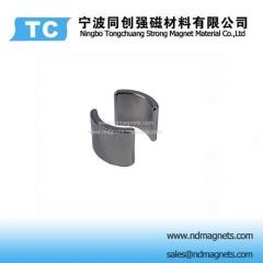 Nickel coated Arc shaped neodymium magnets