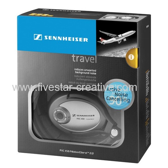 Sennheiser PXC 450 NoiseGard Active Noise-Canceling Around-Ear Headphones