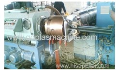 plastic corrugated optic duct extrusion line