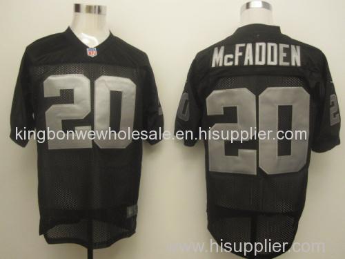 9e0ab3f3 Black NFL Jersey Darren McFadden 20 Oakland Raiders Elite Jersey, Cheap NFL  Jersey Dropship