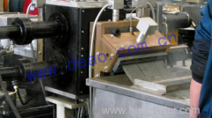 Back-flush screen changer DHZX-1800 for plastic recycling machine