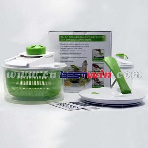4 IN 1 Salad Spinner/Salad Chopper/Salad Mixer