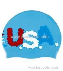 Most popular silicone swim caps