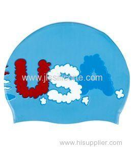 Most popular silicone swim caps