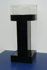 acrylic exhibition table , desk