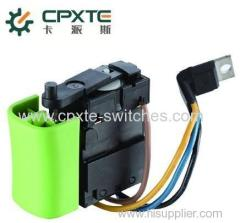 HP switches for power tool and garden tool