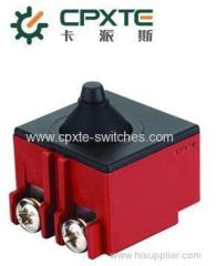 DPX switches for angle grinder
