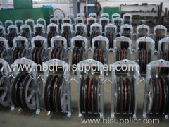 220 KV Overhead Transmission Line Conductor Pulleys