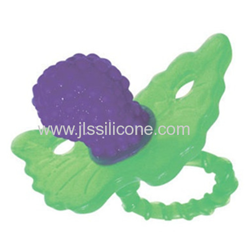 New Design Silicone Baby Teethers with FDA/LFGB Certified