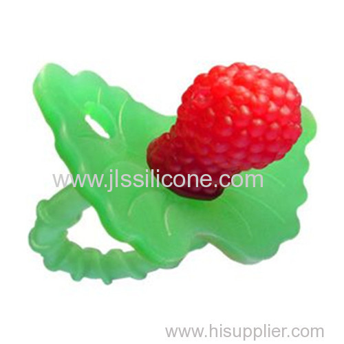 100% Safe food grade silicone baby teether