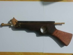 Animal Shape Wood Carved Rubberband Guns