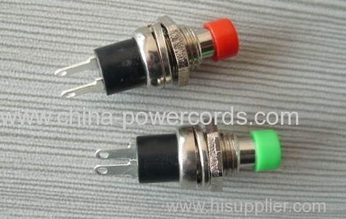 Push button switches with different colour