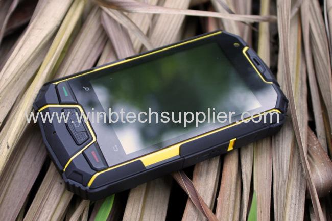 ip67 MTK6577 Dual core Snopow M6 outdoor Dustproof Shockproof Android Rugged Waterproof phone Dual Sim GPS 3G Runbo