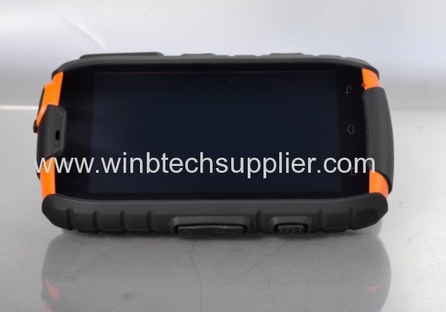 2014 New Listing Military IP 68 Standard BATL ws15 Quad core Rugged Smart Mobile Phone NFC, PTT