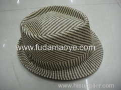 cheap paper straw fedora hats