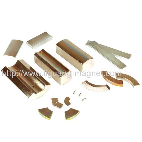 Gold Irregular Motor Magnet