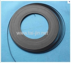 Ir-Tan Oxide Ribbon Anode by Mechnical Automatic Brushing
