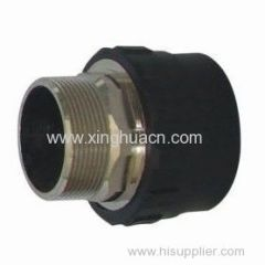 HDPE socket fusion fittings male thread coupling