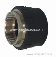 HDPE socket fusion fittings female thread coupling