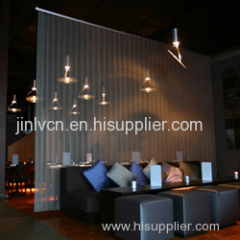 coil drapery mesh curtains