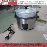 Pre Shipment Inspection for Rice Cooker