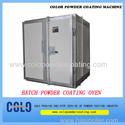 China powder coating oven