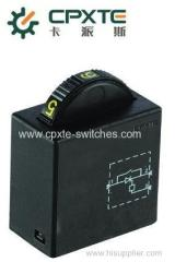 Dial switches for power tool and garden tool