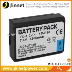 LP-E10 Rechargeable battery for canon EOS 1100D Kiss X50 camera
