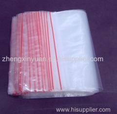 Grip Self-seal Plastic Bags
