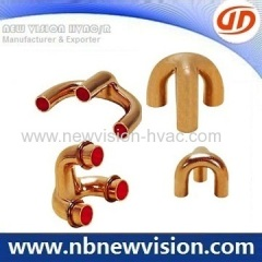 Copper Tripod with Brazing Rings for Heat Exchanger - Fan Coils