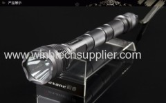 CREE XM-L T6 1000 Lumens 7 modeLed flashlight torch + 2*3* 18650 4000mah Battery + Charger