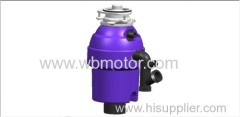 new design 550W food waste disposer in resterant and kitchen