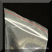 see-through reclosable poly bags