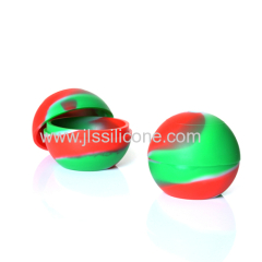 Colorful Single round-shaped silicone ice ball molds