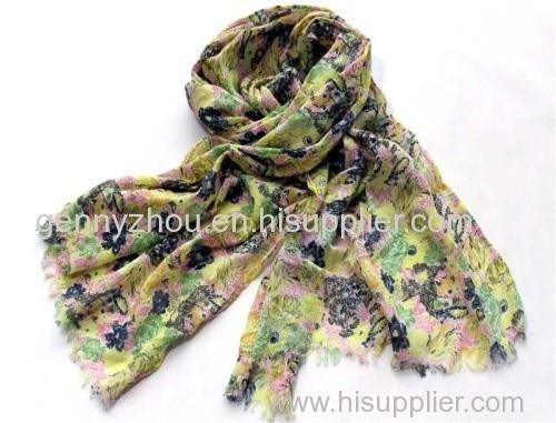 100% cotton printing scarf
