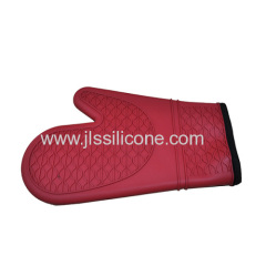 Durable Cooking Five Fingers Silicone Oven Mitts