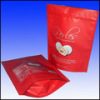Stand up tea bag with zipper