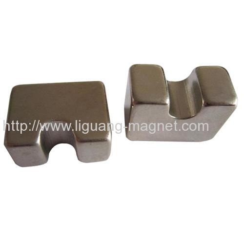 High electrical resistance Motor Magnet