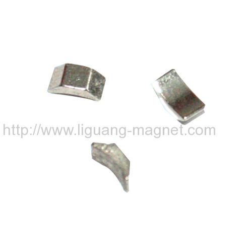 High coercive force Permanent motor Magnet