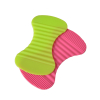 Nice shape silicone table mat coaster