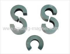 Sintered soft SmCo5 rare earth magnet