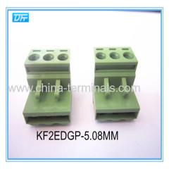 Buy pluggable terminal block Online pitch 5.0mm 24 -14AWG 16A