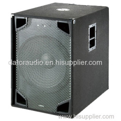 15-inch Black Carpet Passive Pro Audio Bass Sound Box