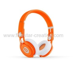 Beats door Dr.Dre Mixr Headband Hoofdtelefoons Oranje Limited Edition