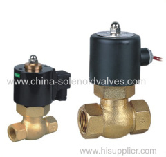 guide type steam solenoid valve