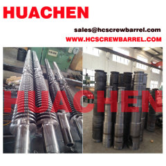 SKD Conical barrel and screw