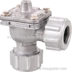 Right Angle(DD Type) Gas Control Pulse Valve