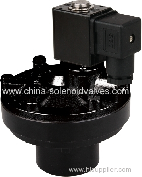 DN42 Right Angle Solenoid Pulse Valve