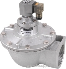 right angle dust collector valve