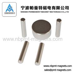 industry N52 Neodymium Cylinder Magnet